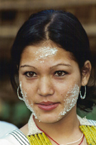 village beauty from Arunachal Pradesh