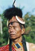 tribesman from nagaland