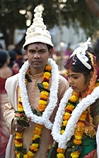Assamese bridal couple Photo: Manoj Sharma