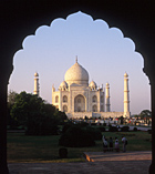 Taj Mahal we visit on tours to Rajasthan North India